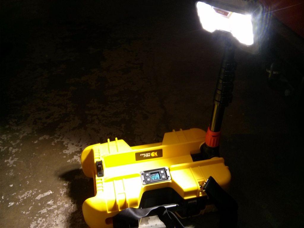 Beleuchtung Akku